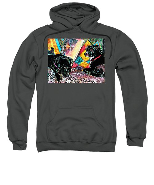 Keeping Themselves Occupied Sweatshirt