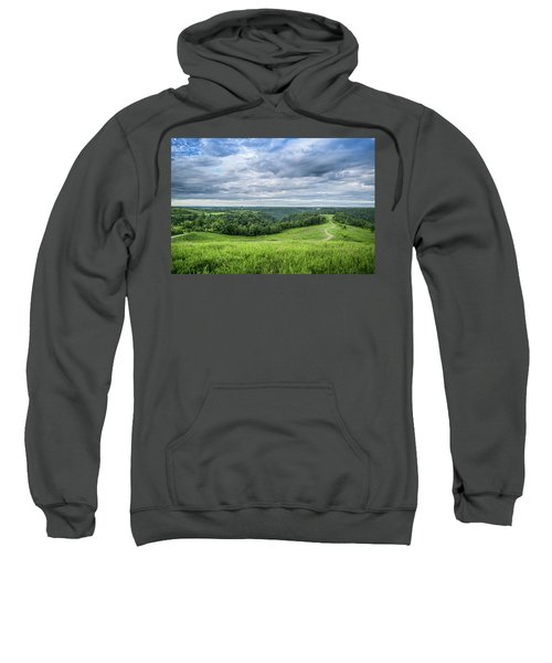 Kentucky Hills And Clouds Sweatshirt
