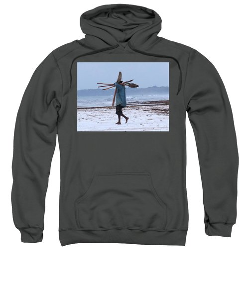 Kenyan Fisherman And Oars Sweatshirt