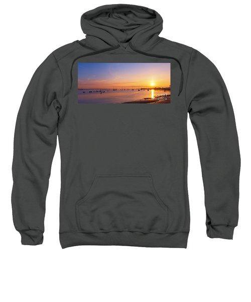 Keyport Harbor Sunrise  Sweatshirt