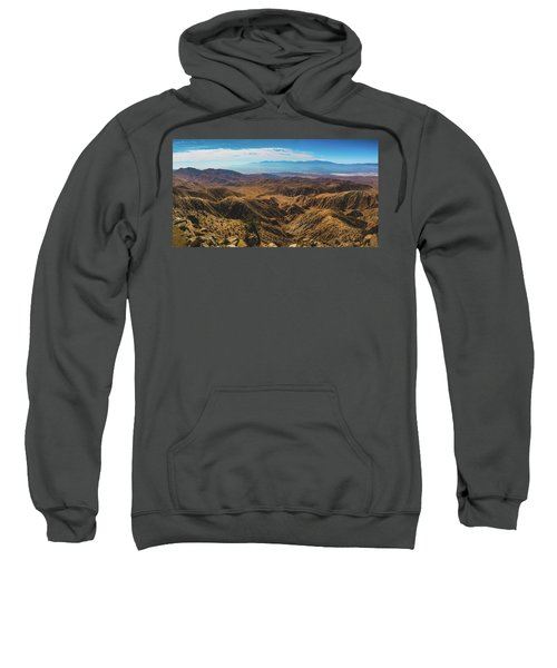 Keys View Overlook Panorama Sweatshirt