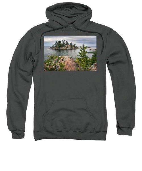 Killarney-island-pink-4513 Sweatshirt