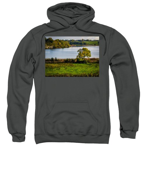 Sweatshirt featuring the photograph Killone Lake In County Clare, Ireland by James Truett