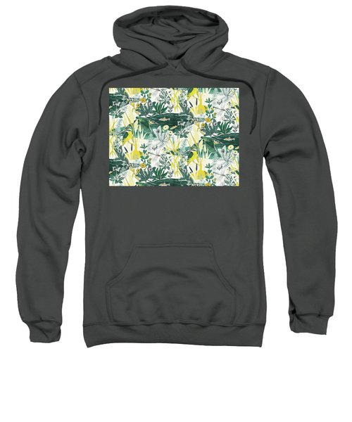 Kingfisher Sweatshirt by Jacqueline Colley