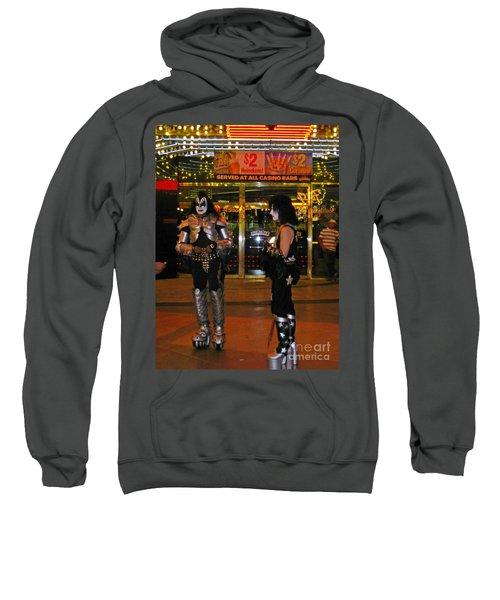 Kiss In Las Vegas Sweatshirt