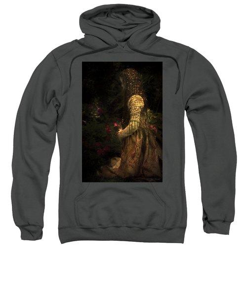 Kneeling In The Garden Sweatshirt