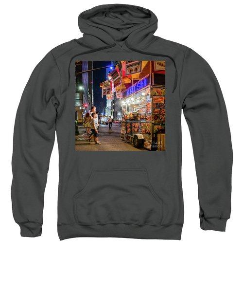 Knish, New York City  -17831-17832-sq Sweatshirt
