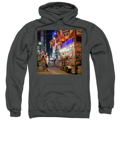 Knish, New York City  -17831-17832-sq Sweatshirt