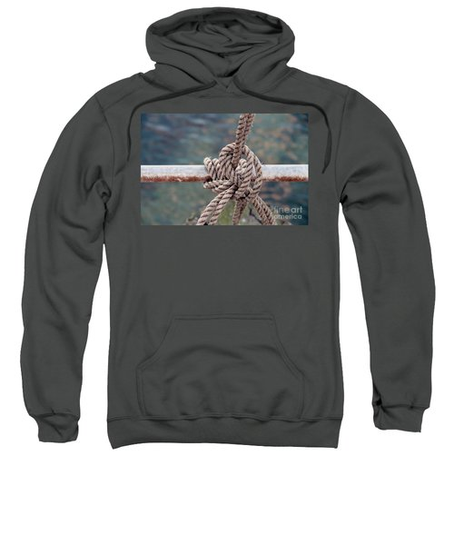 Sweatshirt featuring the photograph Knot Of My Warf by Stephen Mitchell