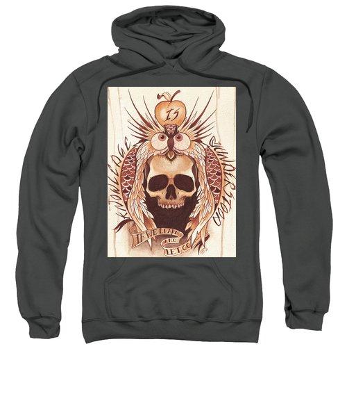 Knowledge Sweatshirt by Deadcharming Art
