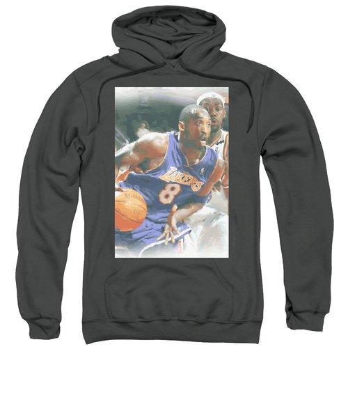 Kobe Bryant Lebron James Sweatshirt by Joe Hamilton