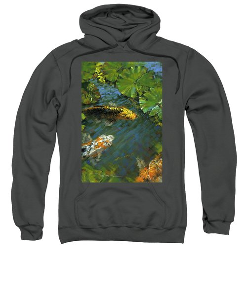 Koi Pond Sweatshirt