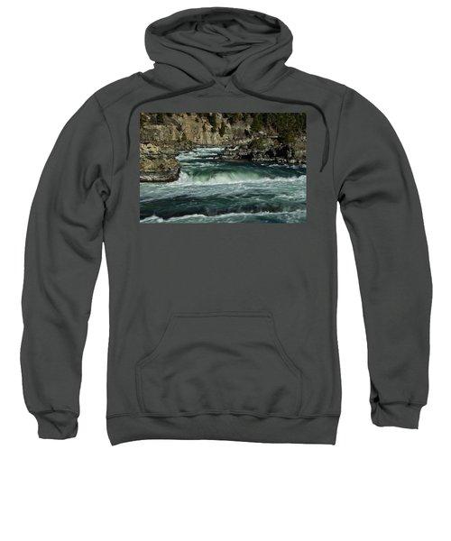 Kootenai Falls, Montana 2 Sweatshirt