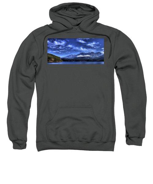 Kootenai Lake From Kaslo Sweatshirt