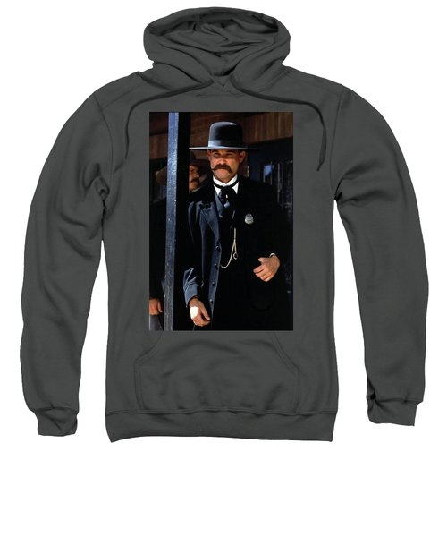 Kurt Russell As Wyatt Earp Tombstone Arizona 1993-2015 Sweatshirt