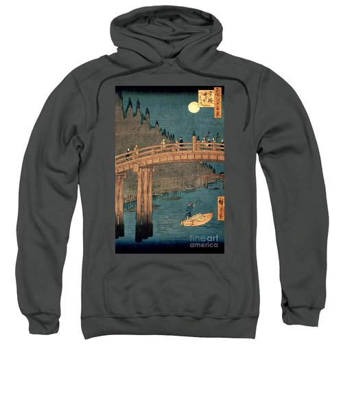 Kyoto Bridge By Moonlight Sweatshirt