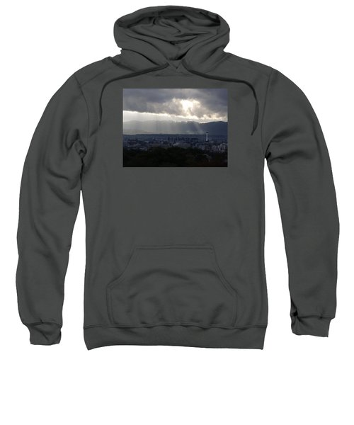 Kyoto Skyline Sweatshirt by Pete Hall