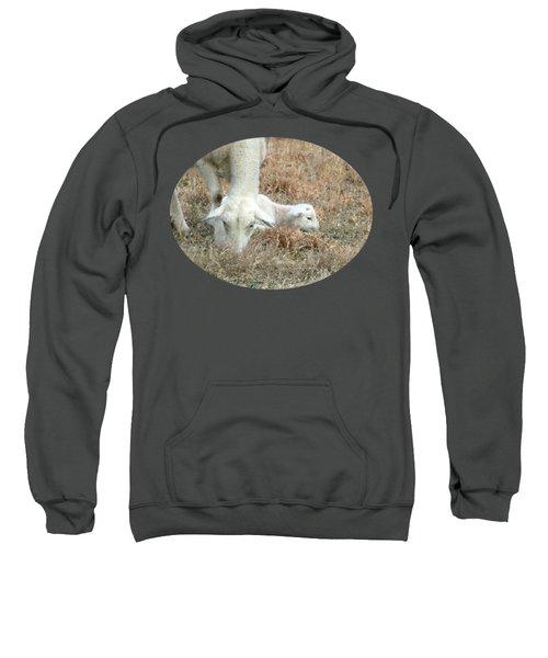 L Is For Lamb Sweatshirt by Anita Faye
