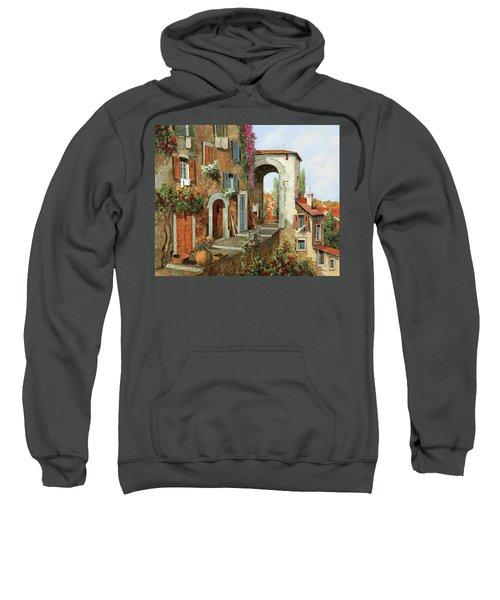 La Stradina Tra I Campi Rossi Sweatshirt