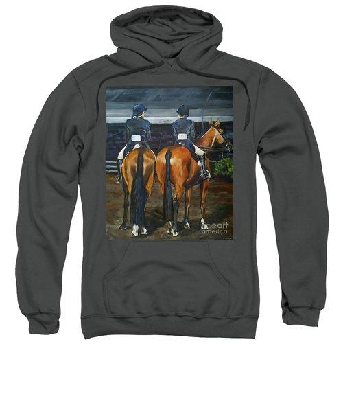 Ladies At Sussex Hunt Night Sweatshirt