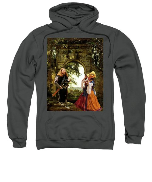Lady At The Gate Sweatshirt