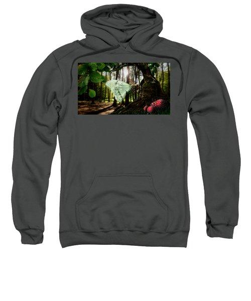 Lady Butterfly Sweatshirt