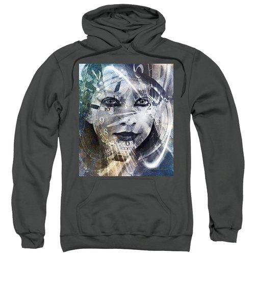 Lady Time Traveler 1a Sweatshirt