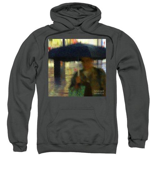 Lady With Umbrella Sweatshirt