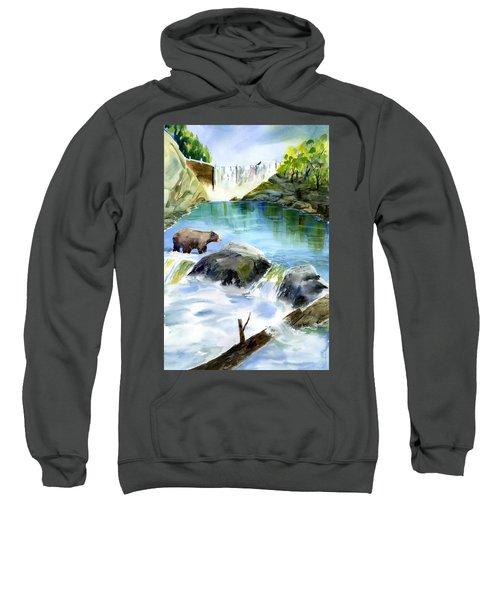 Lake Clementine Falls Bear Sweatshirt