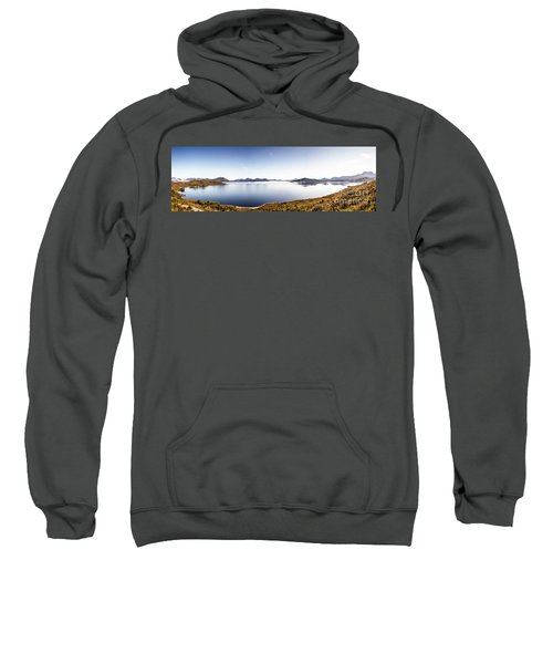 Lake Edgar Dam Southwest Tasmania Sweatshirt