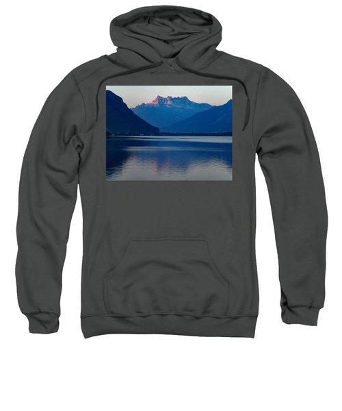 Lake Geneva, Switzerland Sweatshirt