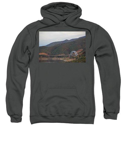 Lake Roosevelt Bridge 2 Sweatshirt
