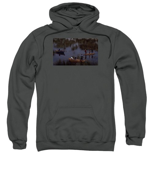 Lake Titicaca Reed Boats Sweatshirt