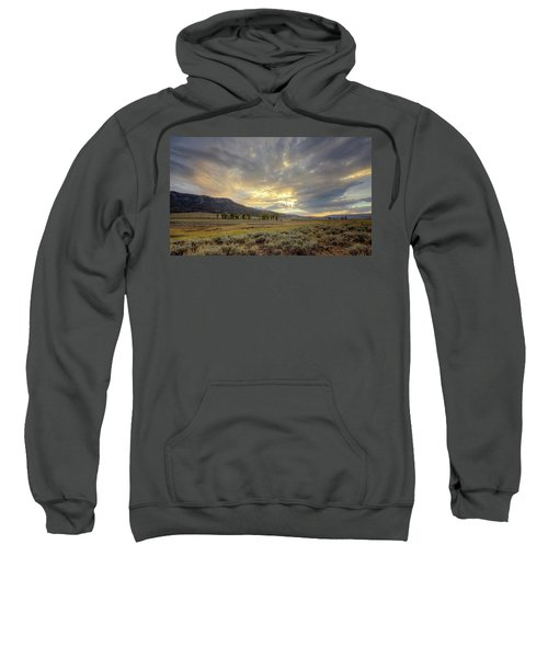 Lamar Valley Sunset Sweatshirt