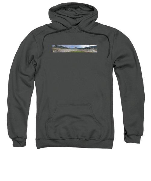 Sweatshirt featuring the photograph Lambeau Field Staduim  by Ricky L Jones