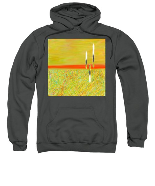 Land Somewhere Sweatshirt