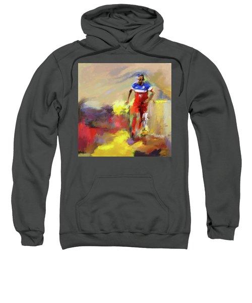 Landon Donovan 545 1 Sweatshirt by Mawra Tahreem