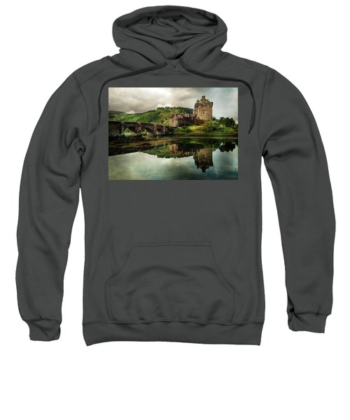Landscape With An Old Castle Sweatshirt