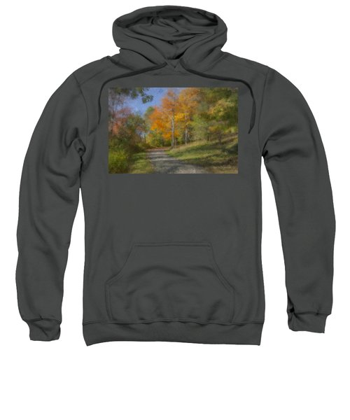 Langwater Path In October Sweatshirt