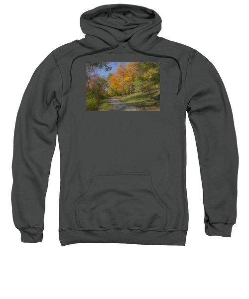 Langwater Path In October Sweatshirt