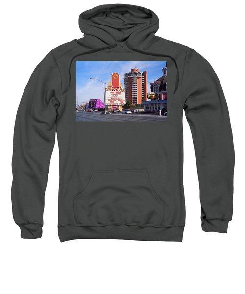 Sweatshirt featuring the photograph Las Vegas 1994 #1 by Frank Romeo