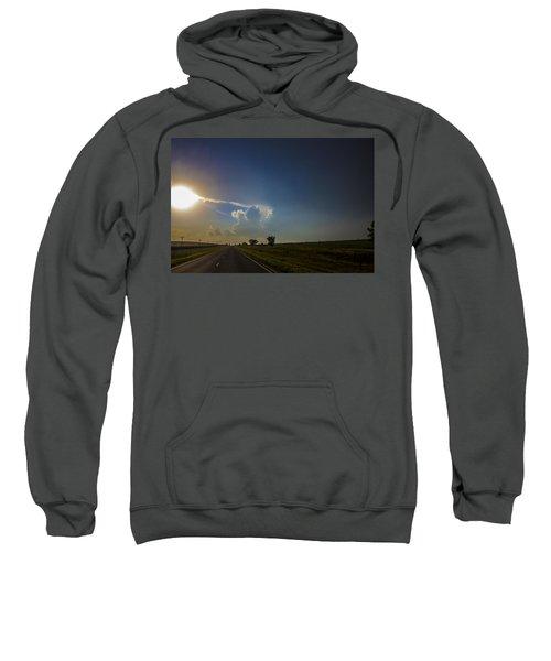 Last Nebraska Supercell Of The Summer 009 Sweatshirt