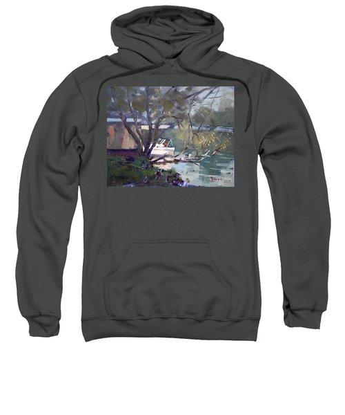 Last Sun Touches By Tonawanda Canal Sweatshirt
