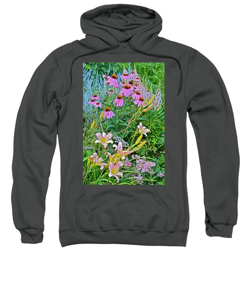 Late July Garden 3 Sweatshirt