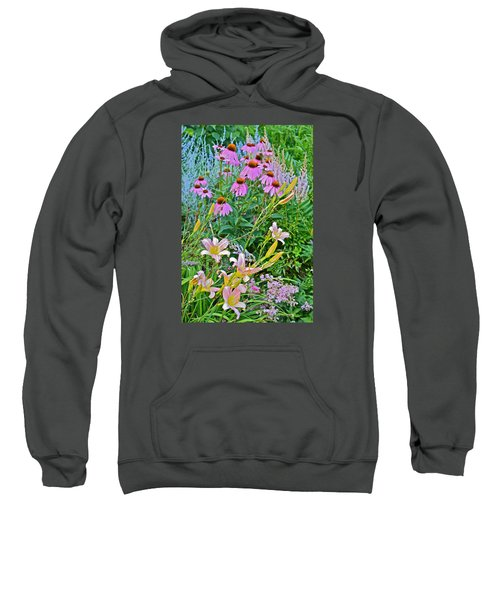 Late July Garden 3 Sweatshirt