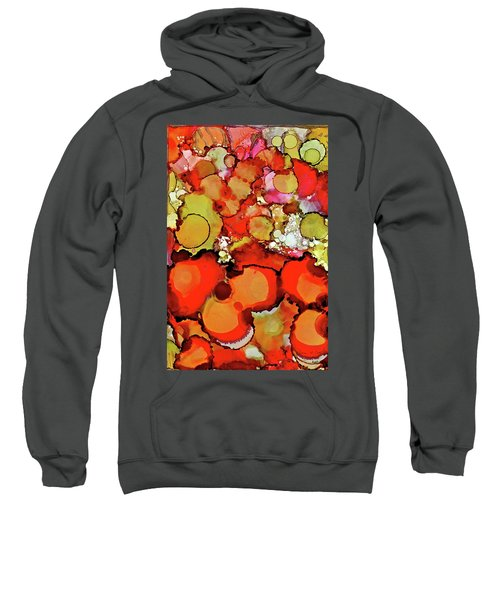 Late Summer Flowers Sweatshirt