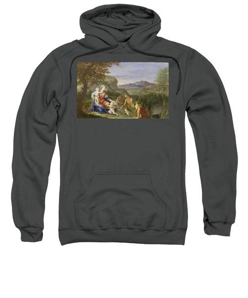 Latona And The Frogs Sweatshirt