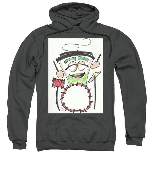Latte Drummer Sweatshirt