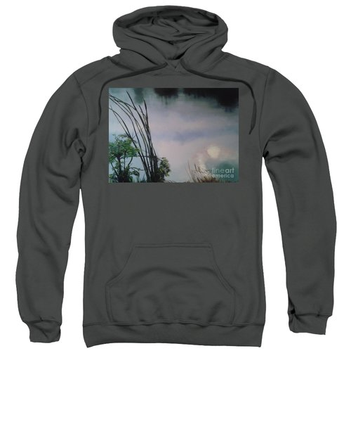Lavender Breakfast Behind The World Sweatshirt