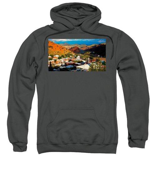 Lavender Pit In Historic Bisbee Arizona  Sweatshirt